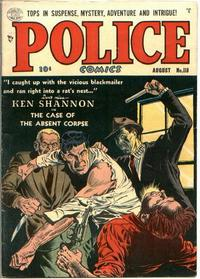 Cover Thumbnail for Police Comics (Quality Comics, 1941 series) #118