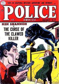 Cover Thumbnail for Police Comics (Quality Comics, 1941 series) #121