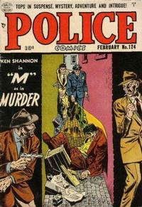 Cover Thumbnail for Police Comics (Quality Comics, 1941 series) #124