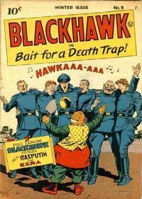Cover Thumbnail for Blackhawk (Quality Comics, 1944 series) #9
