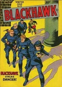 Cover Thumbnail for Blackhawk (Quality Comics, 1944 series) #13