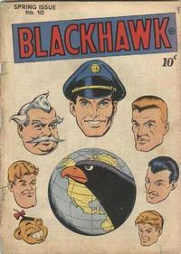 Cover Thumbnail for Blackhawk (Quality Comics, 1944 series) #10