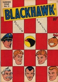 Cover Thumbnail for Blackhawk (Quality Comics, 1944 series) #11