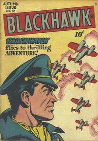 Cover Thumbnail for Blackhawk (Quality Comics, 1944 series) #12