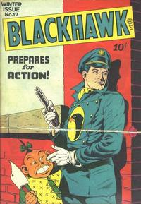 Cover Thumbnail for Blackhawk (Quality Comics, 1944 series) #17