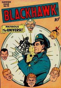 Cover Thumbnail for Blackhawk (Quality Comics, 1944 series) #15