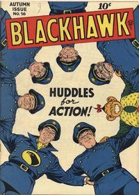 Cover Thumbnail for Blackhawk (Quality Comics, 1944 series) #16