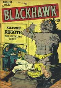 Cover Thumbnail for Blackhawk (Quality Comics, 1944 series) #20