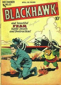 Cover Thumbnail for Blackhawk (Quality Comics, 1944 series) #22
