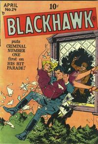 Cover for Blackhawk (Quality Comics, 1944 series) #24