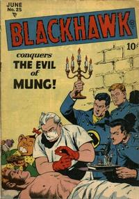 Cover Thumbnail for Blackhawk (Quality Comics, 1944 series) #25