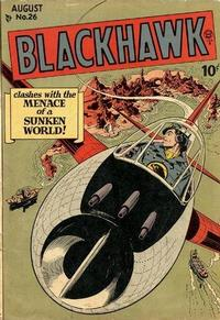 Cover for Blackhawk (Quality Comics, 1944 series) #26