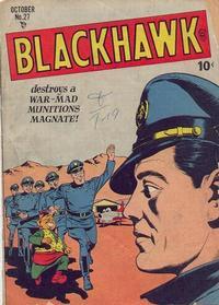 Cover Thumbnail for Blackhawk (Quality Comics, 1944 series) #27
