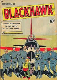 Cover Thumbnail for Blackhawk (Quality Comics, 1944 series) #28