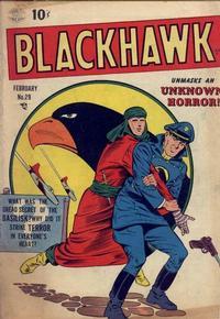 Cover Thumbnail for Blackhawk (Quality Comics, 1944 series) #29