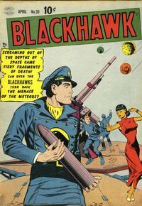 Cover for Blackhawk (Quality Comics, 1944 series) #30