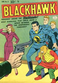 Cover Thumbnail for Blackhawk (Quality Comics, 1944 series) #31