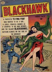 Cover Thumbnail for Blackhawk (Quality Comics, 1944 series) #32
