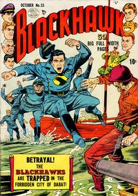 Cover Thumbnail for Blackhawk (Quality Comics, 1944 series) #33