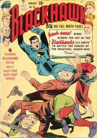 Cover Thumbnail for Blackhawk (Quality Comics, 1944 series) #36
