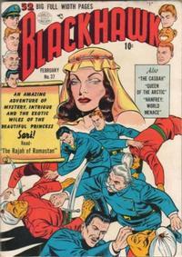 Cover Thumbnail for Blackhawk (Quality Comics, 1944 series) #37