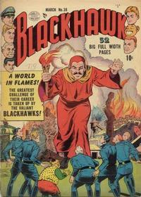 Cover Thumbnail for Blackhawk (Quality Comics, 1944 series) #38