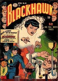 Cover Thumbnail for Blackhawk (Quality Comics, 1944 series) #39
