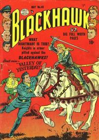 Cover Thumbnail for Blackhawk (Quality Comics, 1944 series) #40
