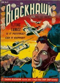 Cover Thumbnail for Blackhawk (Quality Comics, 1944 series) #41