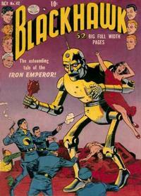 Cover Thumbnail for Blackhawk (Quality Comics, 1944 series) #42