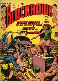 Cover Thumbnail for Blackhawk (Quality Comics, 1944 series) #43