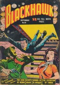 Cover Thumbnail for Blackhawk (Quality Comics, 1944 series) #44
