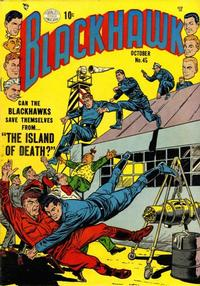 Cover Thumbnail for Blackhawk (Quality Comics, 1944 series) #45