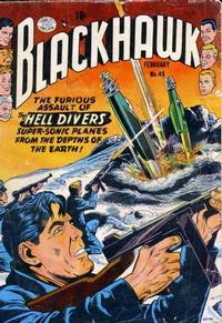 Cover Thumbnail for Blackhawk (Quality Comics, 1944 series) #49