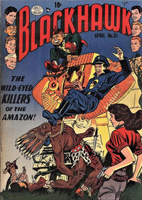 Cover Thumbnail for Blackhawk (Quality Comics, 1944 series) #51
