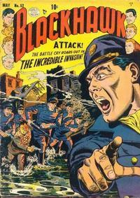 Cover Thumbnail for Blackhawk (Quality Comics, 1944 series) #52