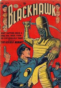 Cover Thumbnail for Blackhawk (Quality Comics, 1944 series) #53