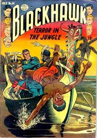 Cover Thumbnail for Blackhawk (Quality Comics, 1944 series) #54