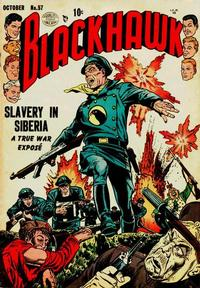 Cover Thumbnail for Blackhawk (Quality Comics, 1944 series) #57