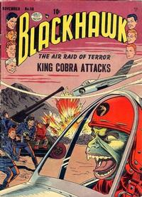 Cover Thumbnail for Blackhawk (Quality Comics, 1944 series) #58