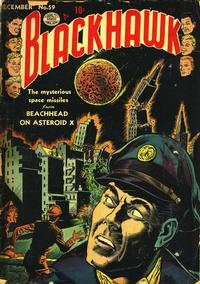 Cover Thumbnail for Blackhawk (Quality Comics, 1944 series) #59