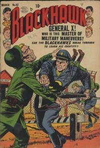 Cover Thumbnail for Blackhawk (Quality Comics, 1944 series) #62