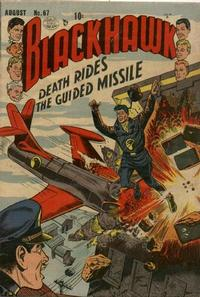 Cover Thumbnail for Blackhawk (Quality Comics, 1944 series) #67