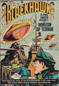 Cover Thumbnail for Blackhawk (Quality Comics, 1944 series) #71