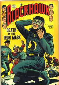 Cover Thumbnail for Blackhawk (Quality Comics, 1944 series) #72