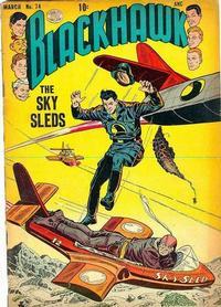 Cover Thumbnail for Blackhawk (Quality Comics, 1944 series) #74