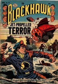 Cover Thumbnail for Blackhawk (Quality Comics, 1944 series) #77