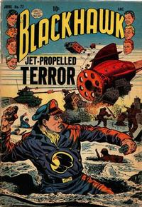 Cover Thumbnail for Blackhawk (Quality Comics, 1944 series) #77
