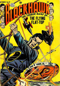 Cover Thumbnail for Blackhawk (Quality Comics, 1944 series) #81