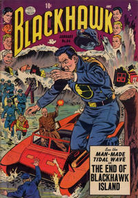 Cover Thumbnail for Blackhawk (Quality Comics, 1944 series) #84
